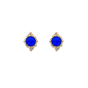 Lily and rose - MISS BONNIE EARRINGS – MAJESTIC BLUE
