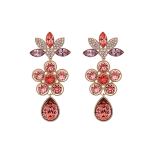 Lily and rose - AURORA EARRINGS – ROSE PEACH