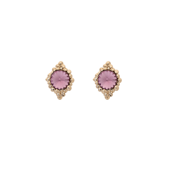 Lily and rose - MISS BONNIE EARRINGS – LIGHT AMETHYST
