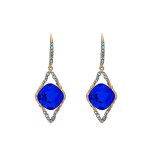 Lily and rose - FRANKA EARRINGS – MAJESTIC BLUE