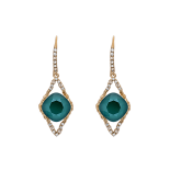 Lily and rose - FRANKA EARRINGS – ROYAL GREEN