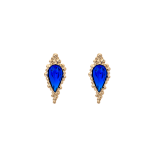 Lily and rose - ETHEL EARRINGS – MAJESTIC BLUE