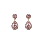 Lily and rose - PETITE SOFIA EARRINGS – ROSE PEACH