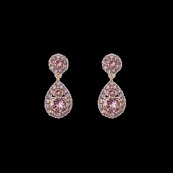 Lily and rose - PETITE SOFIA EARRINGS – ROSE PEACH