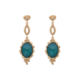 Lily and rose - NAOMI EARRINGS – ROYAL GREEN