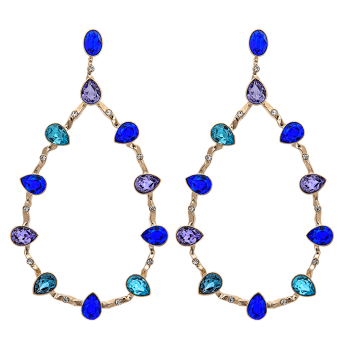 Lily and rose - ANNABELLE EARRINGS – MAJESTIC BLUE