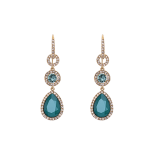 Lily and rose - AMY EARRINGS – ROYAL GREEN