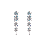 Lily and rose - PETITE LAUREL EARRINGS – OCEAN BLUE