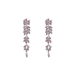 Lily and rose - PETITE LAUREL EARRINGS – ROSE PEACH