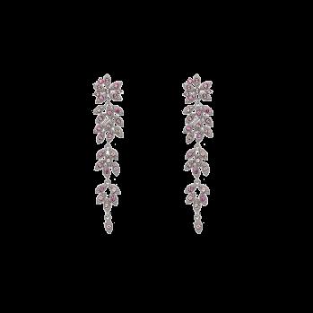 Lily and rose - PETITE LAUREL EARRINGS – ROSE PEACH