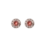 Lily and rose - MISS SOFIA EARRINGS – ROSE PEACH