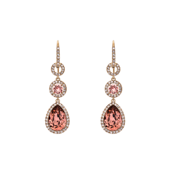 Lily and rose - AMY EARRINGS – BLUSH ROSE