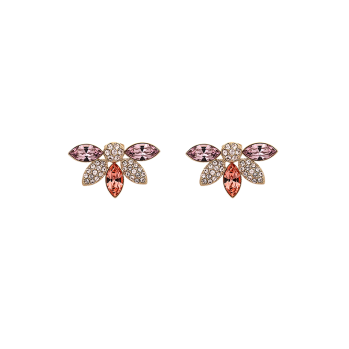 Lily and rose - LUCIA EARRINGS – ROSE PEACH