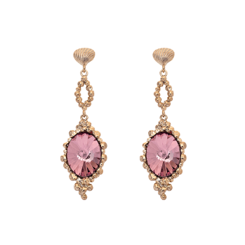 Lily and rose - NAOMI EARRINGS – ANTIQUE PINK