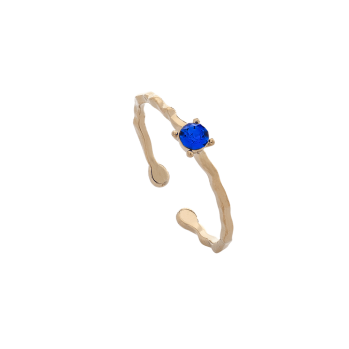 Lily and rose - ADA RING – MAJESTIC BLUE