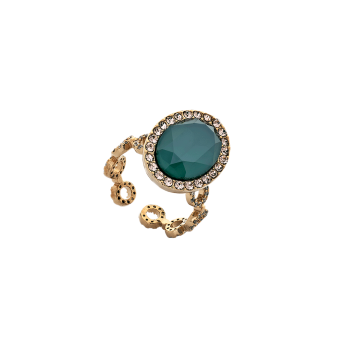 Lily and rose - LIVELY RING – ROYAL GREEN