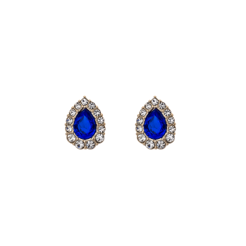 Lily and rose - AMELIE EARRINGS – MAJESTIC BLUE