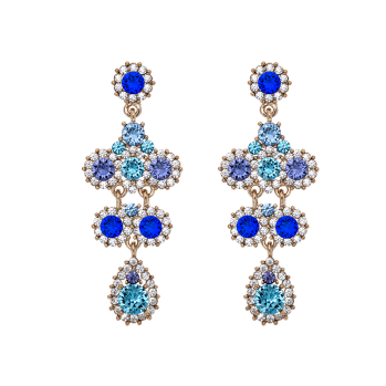 Lily and rose - MISS KATE EARRINGS – OCEAN BLUE