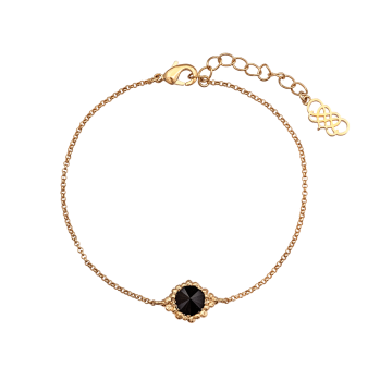 Lily and rose - MISS BONNIE BRACELET – JET (GOLD)