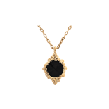 Lily and rose - BONNIE NECKLACE – JET (GOLD)