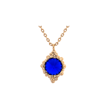 Lily and rose - BONNIE NECKLACE – MAJESTIC BLUE