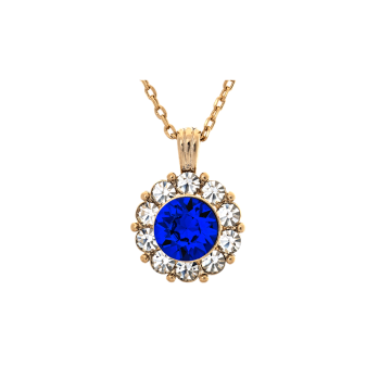 Lily and rose - SOFIA NECKLACE – MAJESTIC BLUE