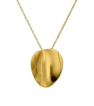 Edblad - Pebble necklace short gold