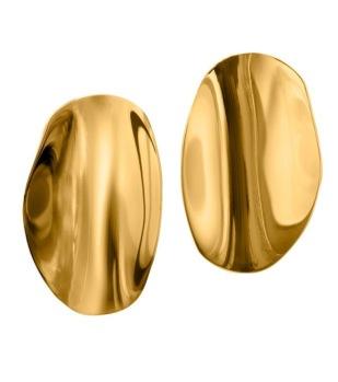Edblad - Pebble studs large gold