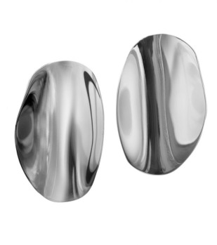 Edblad - Pebble studs large steel