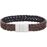 SON - Bracelet dark brown calf leather 19cm