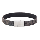 SON - Bracelet grey calf leather 19cm