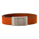 SON - Bracelet brown calf leather 21cm 18mm