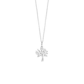 Nordahl - Tree halsband silver