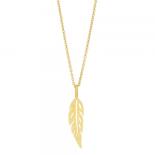Nordahl - Green 23mm halsband guld