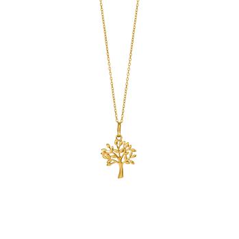Nordahl - Tree halsband guld