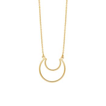 Nordahl - Moon 24mm - 70cm halsband guld