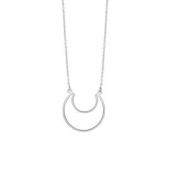 Nordahl - Moon 24mm - 70cm halsband silver