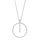 Nordahl Andersen - Get it 20mm halsband silver