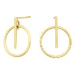 Nordahl - Get it 15mm örhängen guld