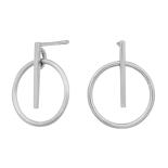Nordahl - Get it 15mm örhängen silver