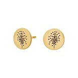 Nordahl - Life 10mm örhängen guld
