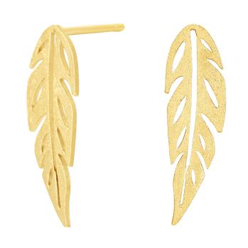 Nordahl - Green 13mm örhängen guld