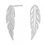 Nordahl - Green 13mm örhängen silver