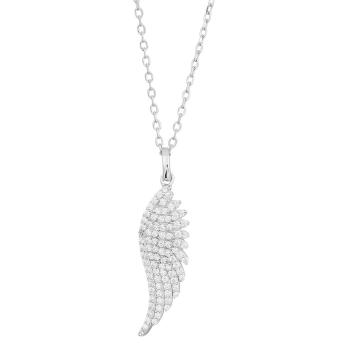 Joanli Nor - Brenda 25mm halsband silver