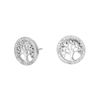Joanli Nor - Caia örhängen silver livetsträd