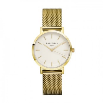 Rosefield - The Tribeca Vit - Guld / 33mm