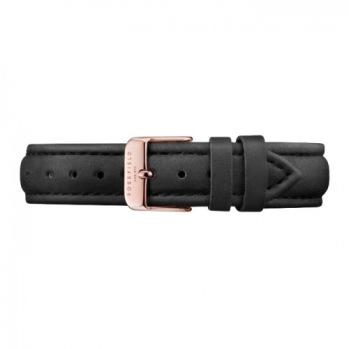 Rosefield - Bowery Klockarmband svart/Roséguld / 33mm