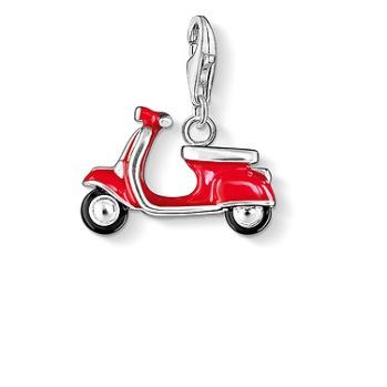 Thomas Sabo - Charm röd skoter |0827-007-10