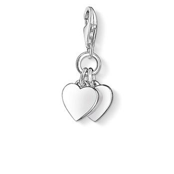 Thomas Sabo - Charm två hjärtan |0836-001-12