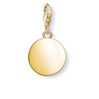 Thomas Sabo - Charm bricka rund guld|1637-413-39